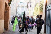 مراسم پیادهروی راهیان حرم تا حرم در میبد برگزار شد