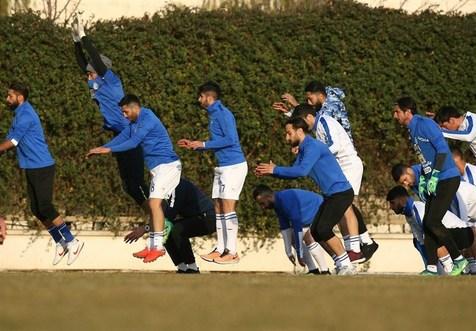 غیبت صیادمنش و 4 بازیکن دیگر در تمرین استقلال