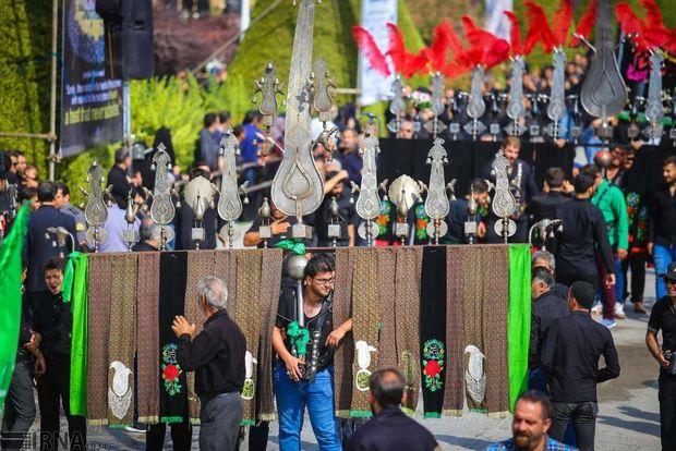 شهرری در روز تاسوعای حسینی به سوگ نشست