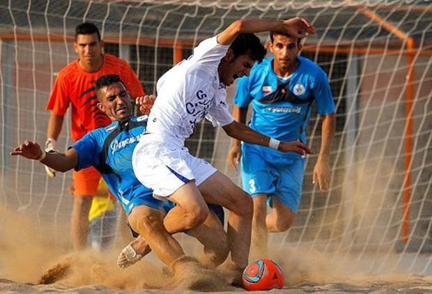 تیم فوتبال ساحلی ایفاسرام  اردکان از سد دریانوردان بوشهر عبور کرد