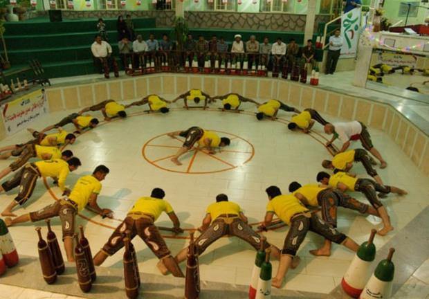 ورزش پهلوانی کرمان در مسابقات قهرمانی کشور خوش درخشید