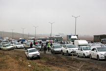 یک تصادف زنجیرهای در ورودی مشهد رخ داد