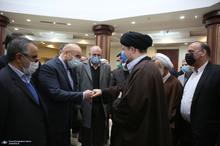 تجدید میثاق رئیس و نمایندگان مجلس شورای اسلامی با آرمانهای امام خمینی(س)