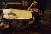 تصادف پژو و پراید در محور ایلام - صالح اباد یک قربانی گرفت