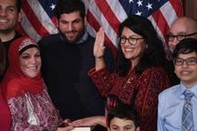 عضو کنگره آمریکا اسرائیل را از نقشه جهان محو کرد+عکس