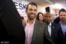 کاندیداتوری پسر ترامپ در انتخابات