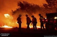 آتش سوزی آمریکا