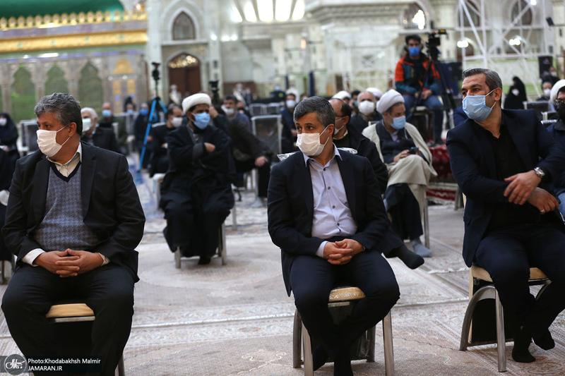 مراسم چهارمین سالگرد رحلت آیت الله هاشمی رفسنجانی(ره) در حرم مطهر امام-2