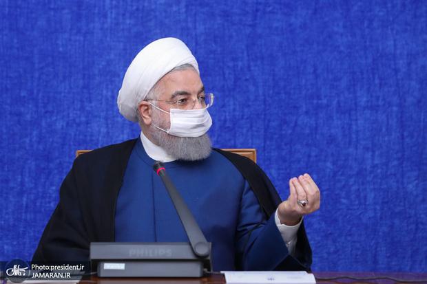 واکنش روحانی به تحریم های آمریکا علیه بانک های ایران