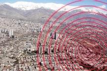 زمین لرزه 3.6 ریشتری در تبریز   باسمنج کانون زلزله