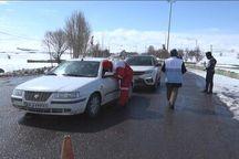 پایش سلامت سرنشینان بیش از سه هزار و ۵۰۰ خودرو در شهرستان نیر