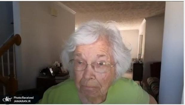 رد ادعای ترامپ توسط یک زن 94 ساله: من زنده ام و به بایدن رای دادم+عکس