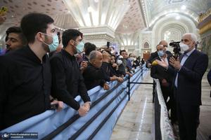 حضور محسن مهرعلیزاده در حرم مطهر امام خمینی(س)