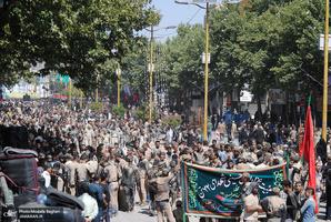 عزداری ظهر عاشورا در در خرم آباد
