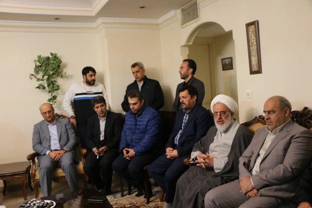 دلجویی مسئولان استان البرز از خانواده سرملوان فردیسی نفتکش سانچی