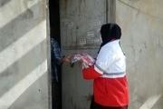 هلال احمر ۱۲ هزار بسته بهداشتی در کرمانشاه توزیع کرد