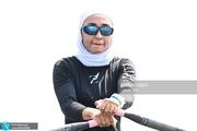 المپیک 2020 توکیو| صعود تاریخی نازنین ملایی به یک چهارم نهایی قایقرانی روئینگ +تصاویر