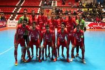 پیروزی تیم فوتسال گیتی پسند اصفهان بر فرش آرا مشهد