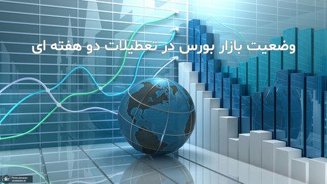 وضعیت بازار بورس در تعطیلات دو هفته ای مشخص شد