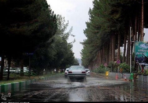 هشدار هواشناسی درباره بارندگی در این ۱۰ استان