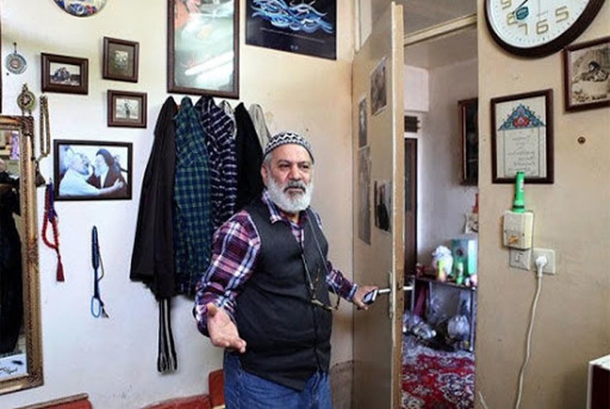 ماجرای تصویر تکان دهنده از قاسم آهنین جان پس از اخراج از بیمارستان