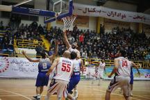 لیگ برتر بسکتبال  شهرداری گرگان برابر آویژه صنعت مشهد پیروز شد