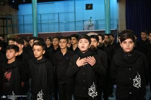 اجرای گروه سرود دانش آموزی بسیج هنرمندان شهریار در جماران