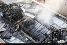 27 مصدوم در حادثه آتشسوزی بازار سنتی تبریز