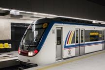 متروی خط 2 تهران از کار افتاد