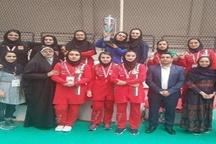 اولین مدال کشتی جهانی بر گردن بانویی از استان چهارمحال وبختیاری
