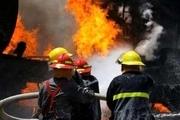 یک کارگاه سبدسازی در قوچان آتش گرفت