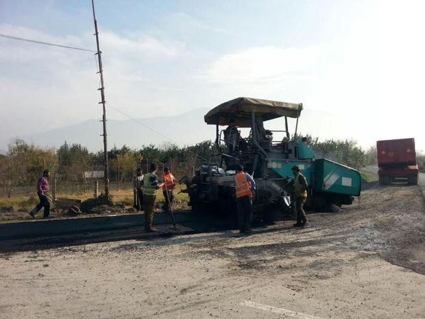 اجرای پروژه راهسازی در بندرگز و چند خبر کوتاه از گلستان