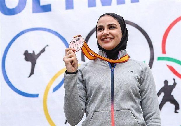 پیام استاندار در قدردانی از بانوی کاراتهکار دارنده مدال طلای جهانی