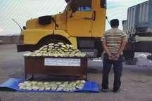123 کیلوگرم مواد مخدر در گناباد کشف شد
