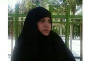 مادر سه شهید مشهدی به فرزندان شهیدش پیوست