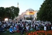 برگزاری نخستین نماز جمعه در مسجد ایاصوفیه استانبول پس از 86 سال