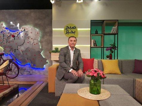 توضیح حمید درخشان درباره سرفه های مشکوکش در برنامه تلویزیونی