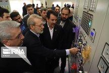 افتتاح هشت پروژه صنعت برق خوزستان با حضور رییس مجلس