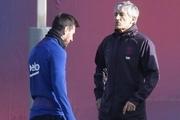 سرمربی بارسلونا به اظهارات بحث برانگیز مسی واکنش نشان داد