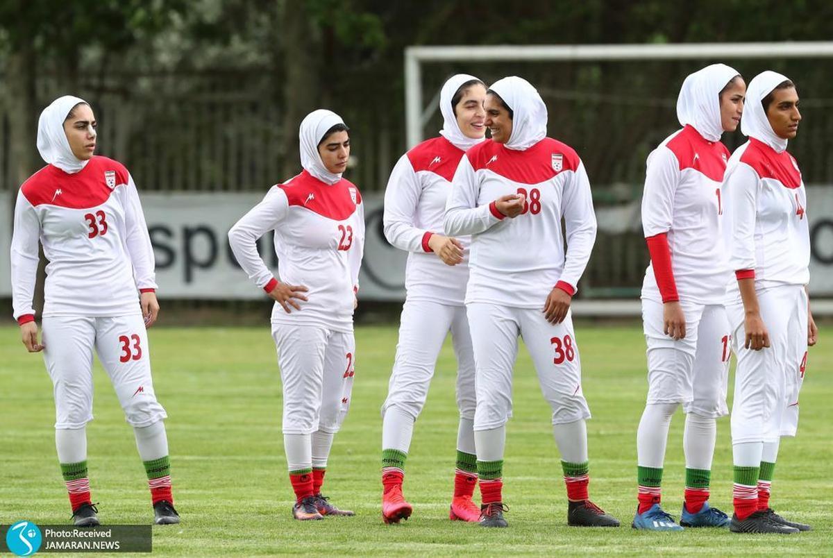 واکسیناسیون تیم ملی فوتبال زنان