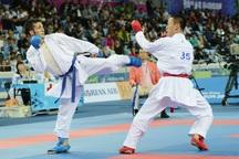 بندرانزلی مقام سوم مسابقات کاراته لیگ برتر کشور را کسب کرد