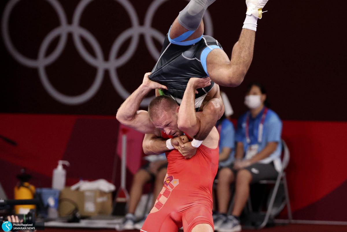 گزارش تصویری  کاروان ایران در روز یازدهم المپیک 2020 توکیو
