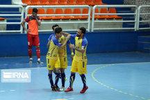تیم فوتسال فرش آرای مشهد تیم شاهین کرمانشاه را شکست داد