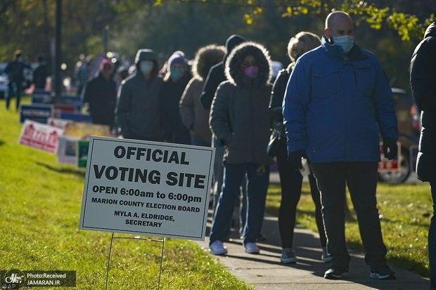 نارضایتی اکثریت جمهوریخواهان از انتخابات آمریکا: آزاد نبود!