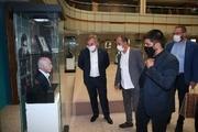بازدید رئیس فدراسیون کشتی صربستان از موزه ملی ورزش