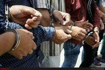 دستگیری ۱۶ تن از اراذل و اوباش در کرمانشاه