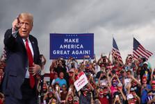 درگیری هواداران و مخالفان ترامپ و شکاف بی سابقه در جامعه آمریکا