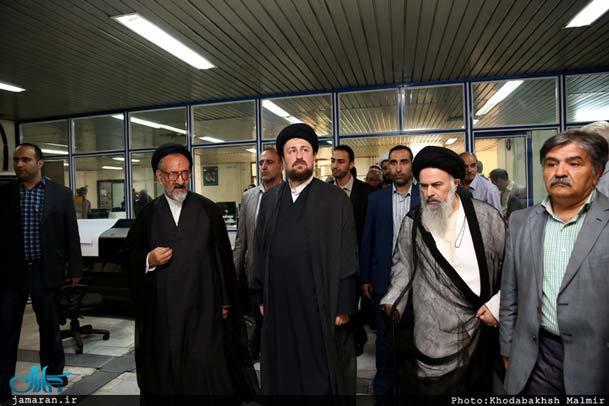 فیلم / بازدید یادگار امام از موسسه اطلاعات