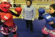 مسابقات منطقه ای موی تای بانوان در بجنورد برگزار شد