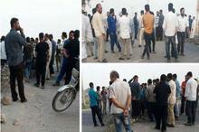 تجمع معترضین در غیزانیه اهواز به خشونت کشیده شد/ دو نفر زخمی شدند+ فیلم